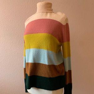 Halogen X Atlantic Pacific turtleneck sweater